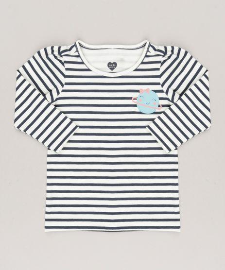 Blusa-Infantil-Listrada-Decote-Redondo-Manga-Longa-em-Algodao---Sustentavel-Off-White-9035303-Off_White_1