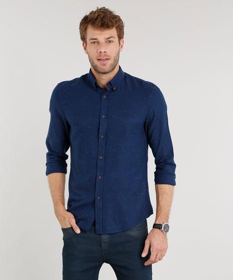 Camisa-Masculina-Comfort-Botone-Manga-Longa-Azul-Marinho-8841731-Azul_Marinho_1