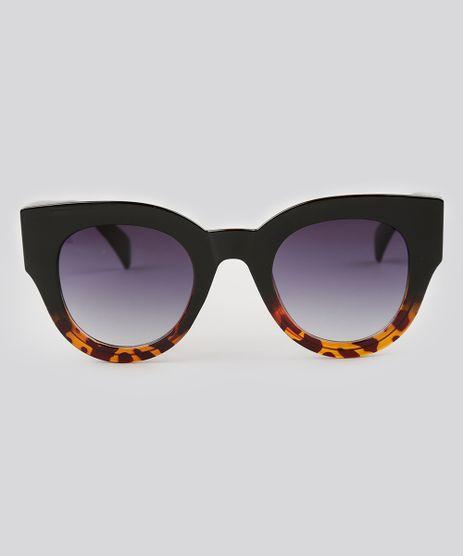 Oculos-de-Sol-Redondo-Feminino-Oneself-Preto-9138100-Preto_1