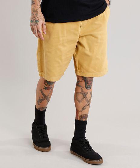 Bermuda-Masculina-Reta-Amarela-9081801-Amarelo_1