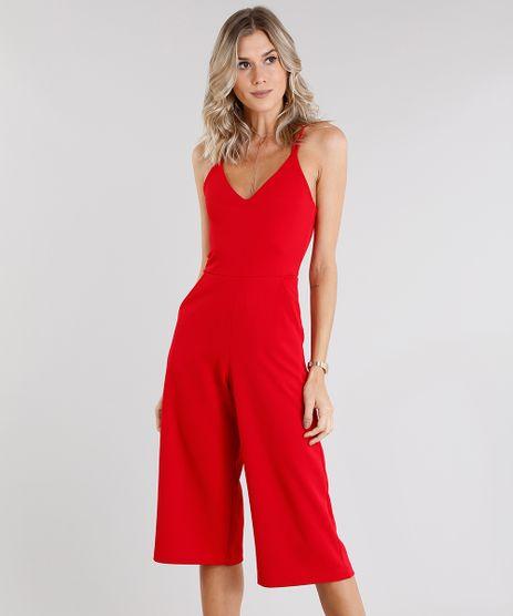 Macacao-Feminino-Pantacourt-com-Tiras-Transpassadas-Vermelho-9130661-Vermelho_1