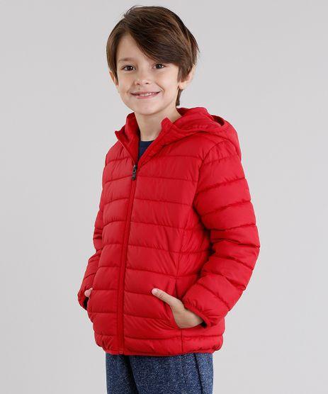 Jaqueta-Infantil-Puffer-com-Capuz-Manga-Longa-Vermelha-8846184-Vermelho_1