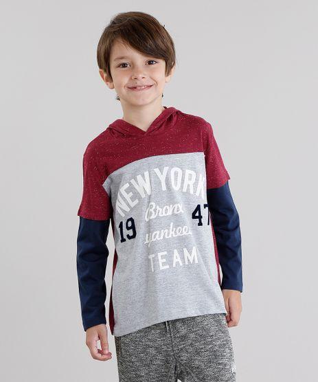 Camiseta-Infantil--New-York--com-Capuz-Manga-Longa-Vinho-9031235-Vinho_1