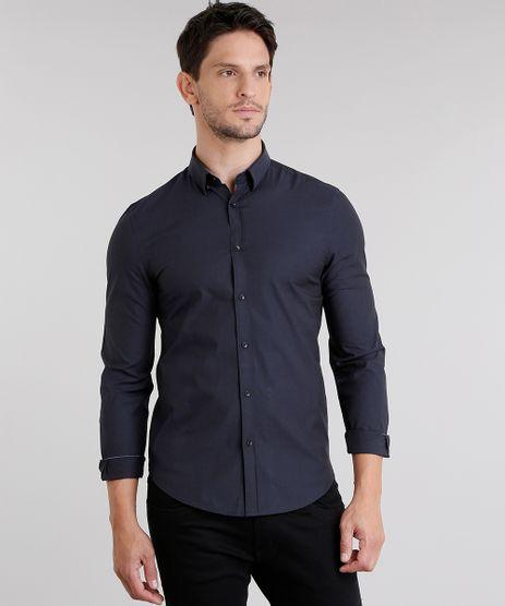 Camisa-Masculina-Slim-Manga-Longa-Azul-Marinho-8855628-Azul_Marinho_1