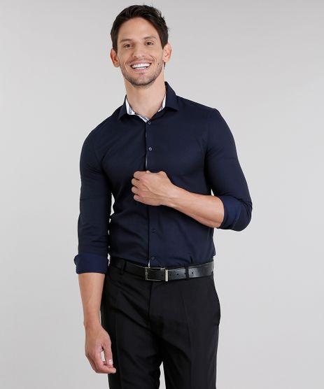 Camisa-Masculina-Slim-Manga-Longa-Azul-Marinho-8858202-Azul_Marinho_1
