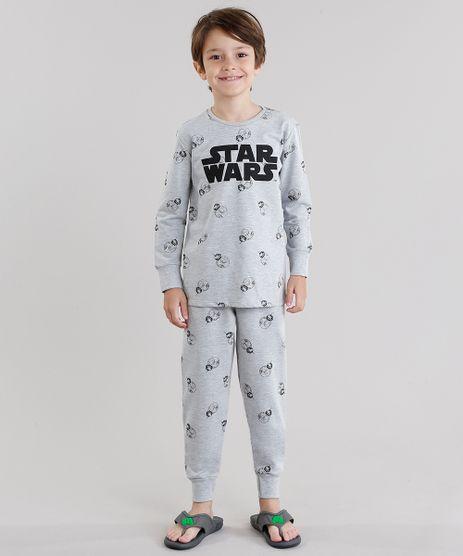 Pijama-Star-Wars-Estampado-em-Moletom-Manga-Longa-Cinza-Mescla-9044632-Cinza_Mescla_1