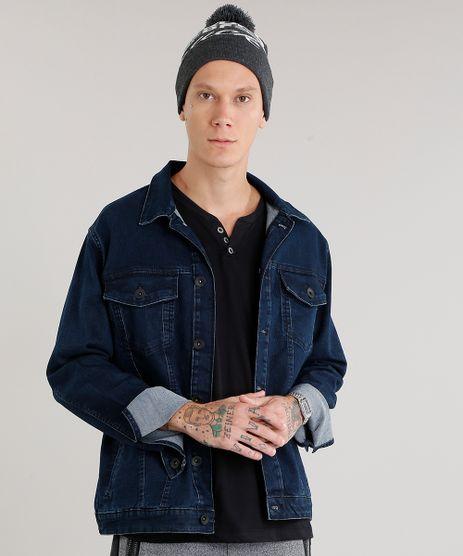 Jaqueta-Masculina-Jeans-Manga-Longa-Azul-Escuro-9047826-Azul_Escuro_1