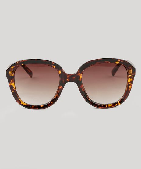Oculos-de-Sol-Quadrado-Feminino-Oneself-Tartaruga-9138106-Tartaruga_1