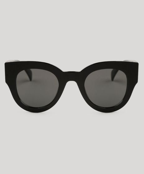 Oculos-de-Sol-Redondo-Feminino-Oneself-Preto-9138103-Preto_1