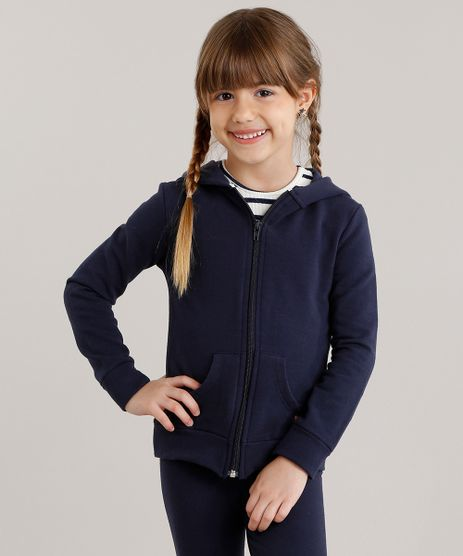 Blusao-Infantil-Basico-em-Moletom-com-Capuz-de-Algodao---Sustentavel-Azul-Marinho-8981653-Azul_Marinho_1
