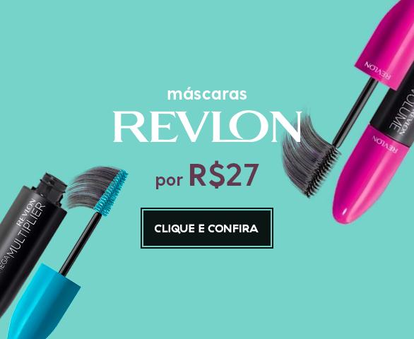 Banner Carrossel - Mascaras Revlon