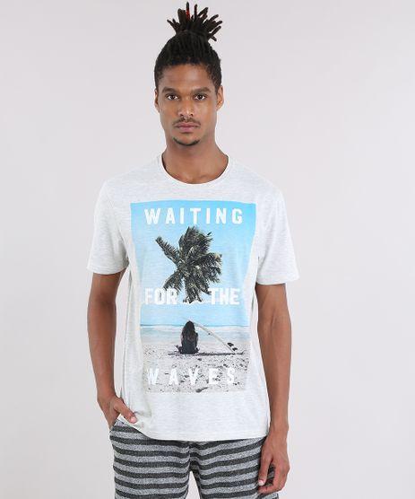 Camiseta--Wating-For-The-Waves--Cinza-Mescla-Claro-8907426-Cinza_Mescla_Claro_1