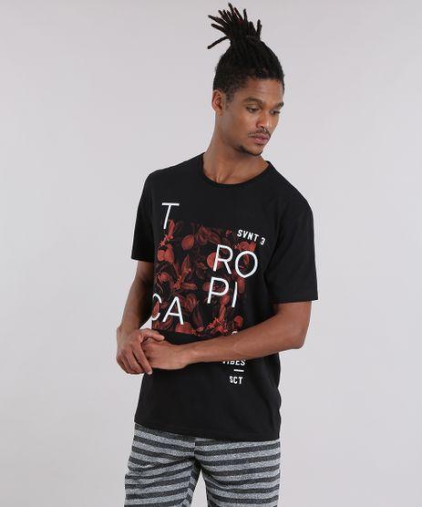Camiseta--Tropical--com-Estampa-Floral-Preta-8907384-Preto_1