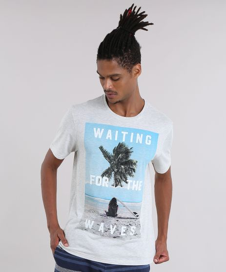 Camiseta--Wating-For-The-Waves--Cinza-Mescla-Claro-8907416-Cinza_Mescla_Claro_1