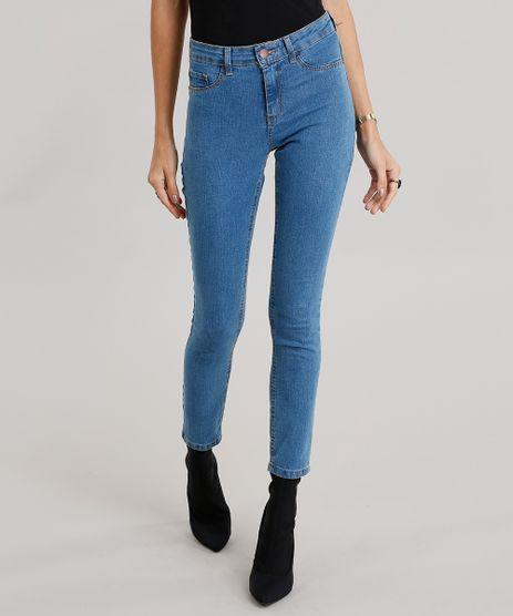 Calca-Jeans-Feminina-Cigarrete-Azul-Medio-9126025-Azul_Medio_1