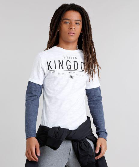 Camiseta-Infantil-Flame--LDN-Kingdom--Manga-Longa-Gola-Careca-Branca-9031427-Branco_1