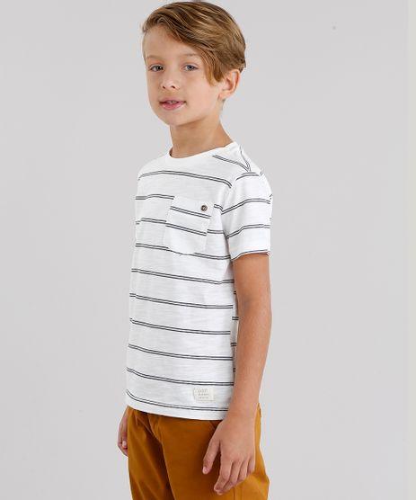 Camiseta-Infantil-Listrada-com-Bolso-Manga-Curta-Gola-Redonda-Off-White-9035773-Off_White_1