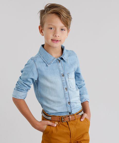 Camisa-Jeans-Infantil-Manga-Longa-Azul-Claro-9060563-Azul_Claro_1
