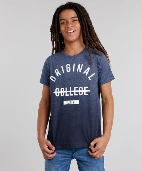 Camiseta-Infantil--Original-College--Manga-Curta-Gola-Careca-Azul-Marinho-9033177-Azul_Marinho_1