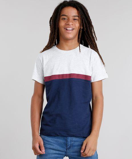 Camiseta-Infantil-com-Recorte-Manga-Curta-Gola-Careca-Azul-Marinho-9037277-Azul_Marinho_1