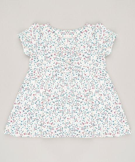 Vestido-Infantil-Estampado-Floral---Faixa-de-Cabelo-Off-White-9081260-Off_White_1