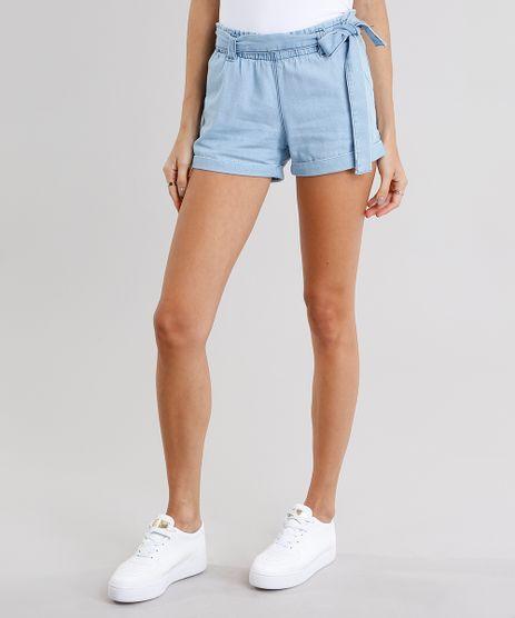 Short-Jeans-Feminino-Clochard-com-Faixa-Azul-Claro-8518793-Azul_Claro_1