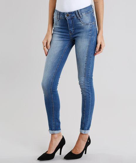 Calca-Jeans-Feminina-Super-Skinny-Sawary-Azul-Medio-9151867-Azul_Medio_1