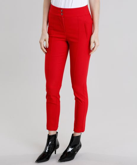 Calca-Feminina-Skinny-Vermelha-8886819-Vermelho_1