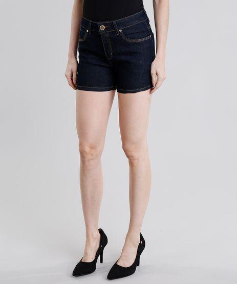 Short-Jeans-Feminino-Reto-Alto-Cintura-Alta-Azul-Escuro-9102676-Azul_Escuro_1