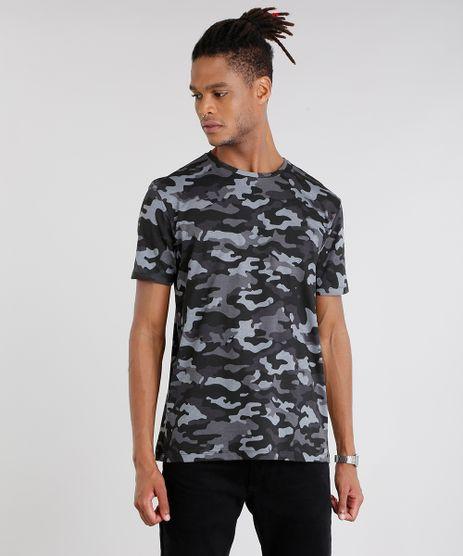 Camiseta-Masculina-Estampada-Camuflada-Manga-Curta-Gola-Careca--Preta-9089659-Preto_1
