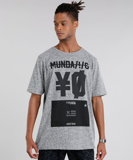 Camiseta-Masculina--Munda--Manga-Curta-Gola-Careca-Cinza-Mescla-9036219-Cinza_Mescla_1