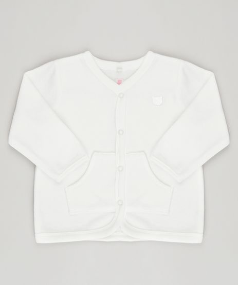 Cardigan-Infantil-em-Plush-Manga-Longa-de-Algodao---Sustentavel-Off-White-8859081-Off_White_1