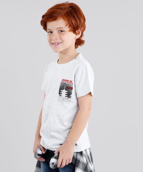 Camiseta-Infantil--Tokyo--Manga-Curta-Gola-Careca-Cinza-Mescla-Claro-9036590-Cinza_Mescla_Claro_1