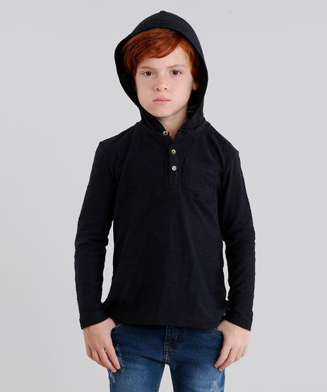 Camiseta-Infantil-com-Capuz-e-Bolso-Manga-Longa-Preta-8803139-Preto_1