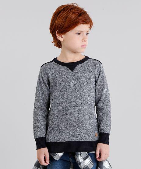 Sueter-Infantil-em-Trico-Manga-Longa-Gola-Careca-Preto-8842334-Preto_1