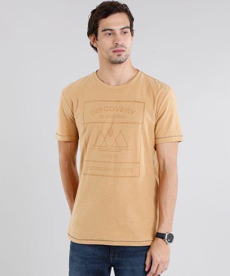 Camiseta-Masculina-Flame--Discovery--Manga-Curta-Gola-Careca-Amarelo-9115032-Amarelo_1