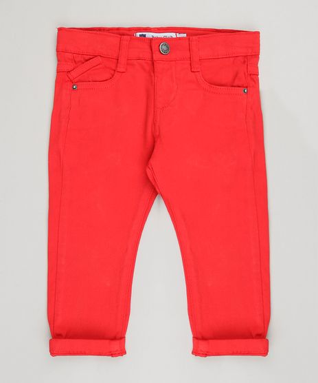 Calca-Infantil-Skinny-Vermelha-9156721-Vermelho_1