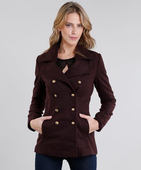 Casaco-Feminino-Trench-Coat-Vinho-8485134-Vinho_1
