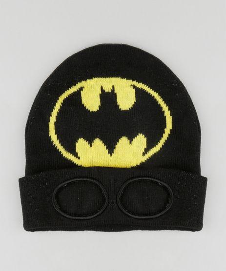 Gorro-Infantil-Batman-com-Mascara-em-Trico-Preta-8865085-Preto_1