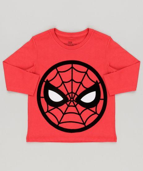 Camiseta-Infantil-Homem-Aranha-Manga-Longa-Gola-Careca-Vermelha-9004736-Vermelho_1