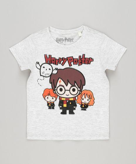Camiseta-Infantil-com-Estampa-de-Carro--Waiting-for-The-Best-Wave--Manga-Curta-Gola-Careca-Cinza-Mescla-Claro-9140227-Cinza_Mescla_Claro_1