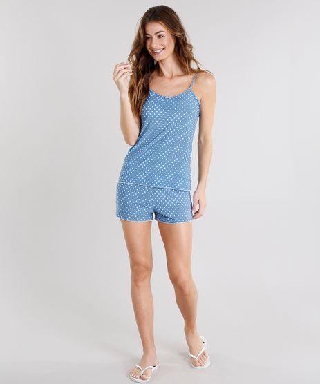 Short-Doll-Feminino-Estampado-Poa-Azul-Claro-9133544-Azul_Claro_1