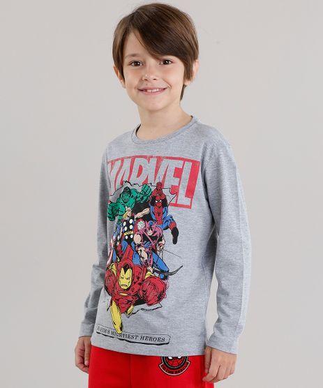 Camiseta-Infantil-Herois-Os-Vingadores-Manga-Longa-Gola-Careca-Cinza-Mescla-9043360-Cinza_Mescla_1