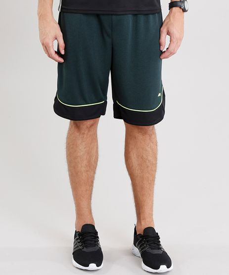 Bermuda-Masculina-Esportiva-Ace-com-Listras-Laterais-e-Vivo-Verde-Escuro-8818859-Verde_Escuro_1