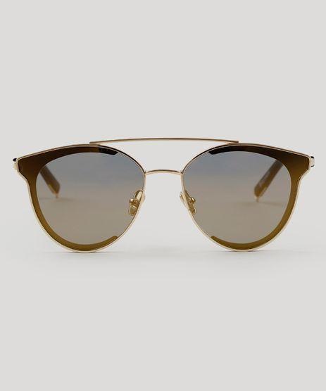 Oculos-de-Sol-Redondo-Feminino-Oneself-Dourado-9189366-Dourado_1