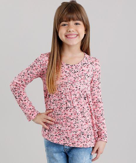 Blusa-Infantil-Estampa-Floral-Manga-Longa-Decote-Redondo-Rosa-9041160-Rosa_1