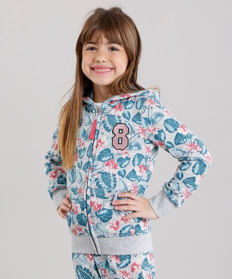 Blusao-Infantil-Estampado-Floral-em-Moletom-com-Capuz-Cinza-Mescla-8871212-Cinza_Mescla_1