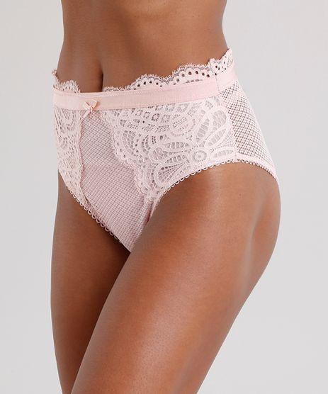 Calcinha-Feminina-Hot-Pant-em-Renda-Rose-8970728-Rose_1