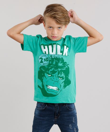 Camiseta-Infantil-Hulk-Manga-Curta-Gola-Careca-Verde-9042683-Verde_1