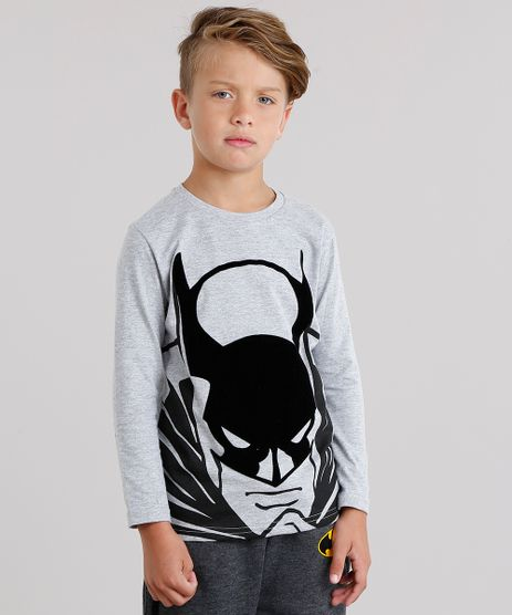 Camiseta-Infantil-Batman-Manga-Longa-Gola-Careca-Cinza-Mescla-9139685-Cinza_Mescla_1